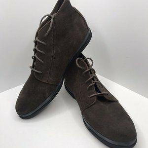 Women's Vintage Keds Brown Ankle Booties